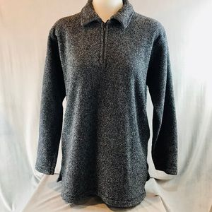 Woolrich 1/4 zip pullover sweater gray size small